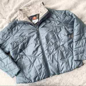 Columbia Ice Blue Omni Heat Jacket 3X